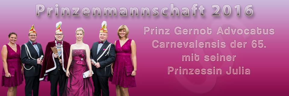 Prinzenmannschaft 2016