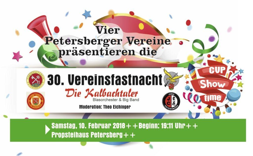 Vereinsfastnacht 2018