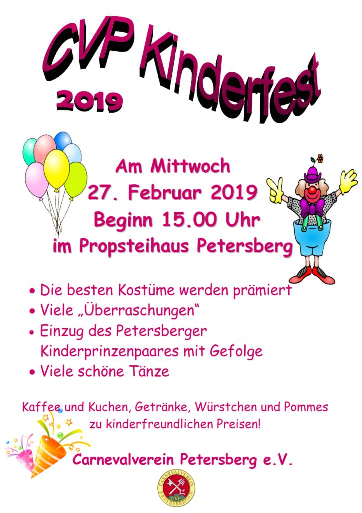 CVP Kinderfest 2019